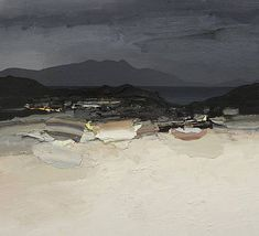 Chris Bushe Paintings for Sale Abstract Landscape Painting, Seascape Paintings, Landscape Art, Landscape Paintings, Contemporary Landscape, Beach Art, Painting Inspiration, New Art, Painting Portraits