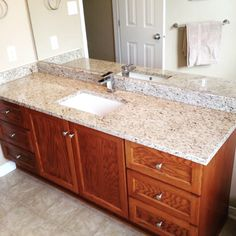 Giallo Ornamental Granite Counter top! #stonedesignconcepts #ottawa #ottawabusiness #gialloornamental #granite