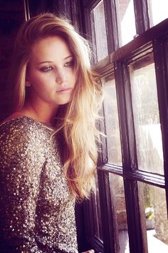 Jennifer Lawrence. Maybe if I keep pinning her picture, I'm turn into her.