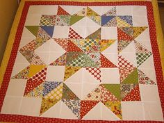 http://joysthoughtsandthings.blogspot.com this is so cute! perfect to use one charm pack.