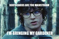 hipster frodo.....I found this way more funny than I should have