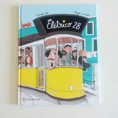 Eletrico 28 - by Davide Cali (Hardcover) Cali, Books, Products, Lisbon, Libros, Book, Book Illustrations, Gadget, Libri