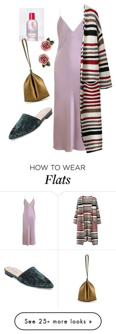 """Slip Dress 2"" by sarahwestervin on Polyvore featuring Olivia von Halle, Onesixone, Dolce&Gabbana and Steve Madden"