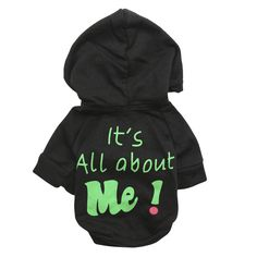 """>> Click to Buy << """"It's All about Me"""" Printting Puppy Dog Jumper Hoodie Coat Winter Cat Pet Clothes Jacket Sweater Teddy Yorkie Polos Sportswear #Affiliate"""