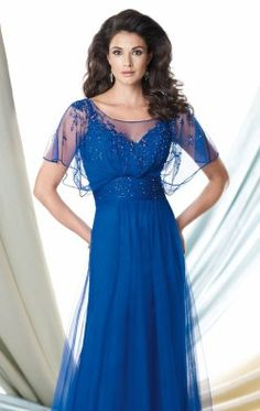 Beaded Embellished Gown by Mon Cheri Montage 114905W