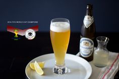 While eating, drinking and thinking German you want a cocktail. Not just straight beer. You're in luck: the radler! Beer and lemonade.
