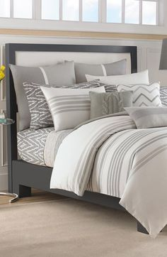 Free shipping and returns on Nautica 'Margate' Duvet & Shams at Nordstrom.com. A crisp, striped duvet cover and coordinating shams add a clean, modern touch to your bedroom décor.