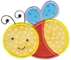 Baby Bug Applique - 2 Sizes! | Baby | Machine Embroidery Designs | SWAKembroidery.com