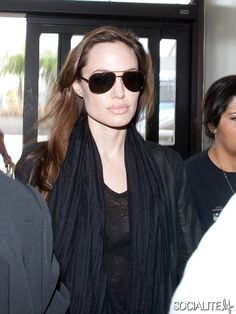 Dear Angelina Jolie,     I promise you'll love Footzyfolds fashionable, foldable, flats!    Sincerely,  Footzyfolds