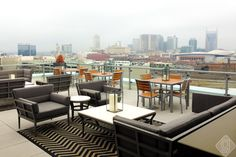 Up-rooftop-lounge-nashville top of the Fairfield Inn and Suites