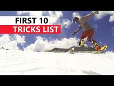 ▶ 10 Snowboard Tricks to Learn First - YouTube