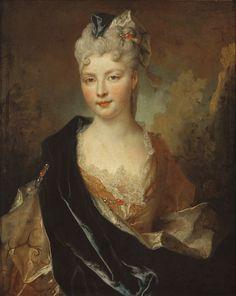 Portrait d'une femme, 1714, école française
