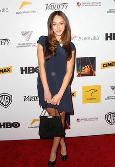 Alycia Debnam-Carey Photos - Arrivals at the Australians In Film Benefit Dinner - Zimbio