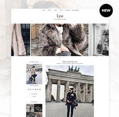 LYSE - Blogger Template Responsive Design Custom Blogger Design Responsive Blogger Template Blogger theme blogspot Template   🍂 🍁 #etsy #etsyshop #themes #templates #youtube #fashiontrends  #pinterest #fashionblogger #fashion #fashionblog #outfits #etsyseller #etsygifts #blogging #bloggingforbeginners #bloggingtips #blogger #blog #lookbook #pinteresttips #startablog Blogger Themes, Pro Blogger, Safari, Mobile Web Design, Big Hugs, New Theme, Blogger Templates, Blog Design