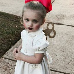 wind up doll costume #disfrazcasero #disfrazinfantil