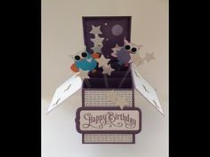 ▶ 3D Card In A Box - Hoot-astic design - YouTube