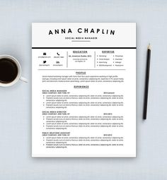 resume template cv template cover letter letterhead stationery ms word