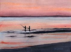 Click on the image to see more watercolors by Lori Rapuano . Follow her at www.fb.com/lorisartandprintmaking.