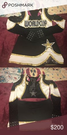 World Cup Shooting Stars uniform Worn for Worlds 2012. Top size medium & skirt size 2 Other