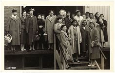 Arrival first Surinamese nurses in The Netherlands 1957