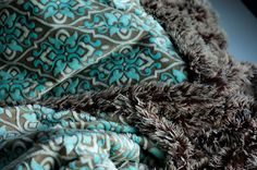 Minky couch blanket