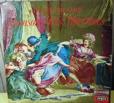 colette renard CHANSONS TRES LIBERTINES vogue cld616