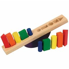 Toddlers and Toys! See Saw Balancing Shape Sorter from Educational Toys Planet