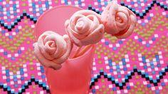 Rosas de bombón