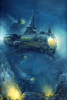 steam punk submarine - Yahoo Image Search Results