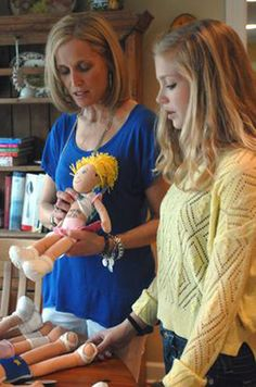 Jodi Norgaard created Go! Go! Sports Girls, a line of athletic dolls that portray a positive image for girls and encourage play. We talked to Jodi about how her business got started and the role her family has played in the creative process.