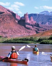 Calm-water kayaking trips in Moab, Utah. Be the captain of your own craft with Canyon Voyages and book your adventure today! Kayak Camping, Kayak Fishing, Fishing Tips, Kayaking Tips, Adventure Center, Kayak Adventures, Outdoor Adventures, Inflatable Kayak, Places To Go