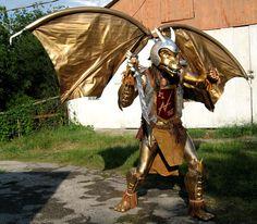 Dragon warrior Costume | Fantasy Roleplay Roleplaying Costumes Dragon Costumes Dragon Cosplay