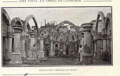 Construção da Cripta da Catedral da Sé 1916