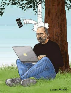 Apple Humor | This is what really happened | Funny Technology - Community - Google+ via Techverse #apple_funny #stevejobs #seems_legit