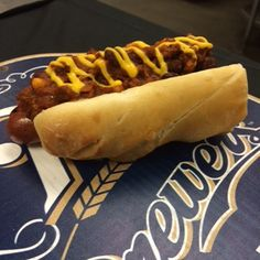 Specials by Series at Miller Park! The Half-Smoke is available for the Brewers vs. Nationals Series.