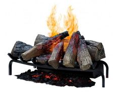 The 28″ Dimplex Optimyst II Insert uses Patented Optiglo Technology to produce pulsating logs. Ultrasonic Technology creates a virtual vapor that simulates the appearance of smoke rising off of a fire. $899.00 on Portable Fireplace.com.