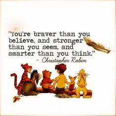 Christopher Robin quote from Pooh's Grand Adventure: The Search for Christopher Robin. Posted on postris.com.