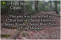 Learn more about Auburn and other New Hampshire towns at The Free State Encyclopedia! http://freestatenh.org/encyclopedia/cities/auburn.php