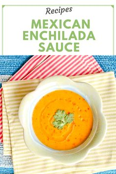 Your enchilada recipe is incomplete without this. A must try recipe. Vegan Food, A Food, Good Food, Food And Drink, Yummy Food, Enchilada Recipes, Enchilada Sauce, Mexican Food Recipes, Vegetarian Recipes