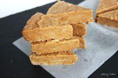 3 ingredient peanut butter fudge (dairy-free, gluten-free, low sugar)