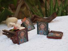 Reserved Byzantine miniature favors St. Andrew by angelicon