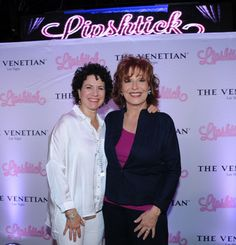 Susie Essman (Curb Your Enthusiasm) and Joy Behar (The View) perform their shtick in Lipshtick.