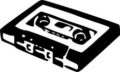 Free vector graphic: Cassette, Tape, Retro, Audio, Music - Free Image on Pixabay - 312483 Tape Art, Music Online, Online Art, Clip Art, Kiko Zambianchi, Punk Rock, Music Clipart, Stencils, Dance Pictures