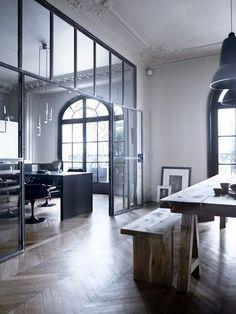 roomdivider scheidingswand staal vintage design loft lovt