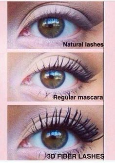 Increase your lash volume by 300% with Younique 3D Fiber mascara! www.bethsbanginlashes.com
