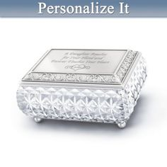 Granddaughter Jewelry Box Brilliant Dear Granddaughter Personalized Music Box  Music Boxes And Box