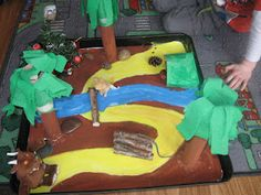 The Gruffalo Story tray