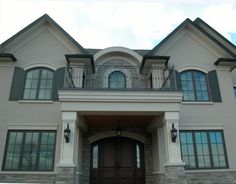 Exterior Stucco House Colors grey stone and stucco exterior houses - google search | house