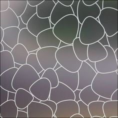 modern window film and privacy film - pebbles frosted