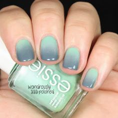 Mint/Grey Gradient: Wondrously Polished